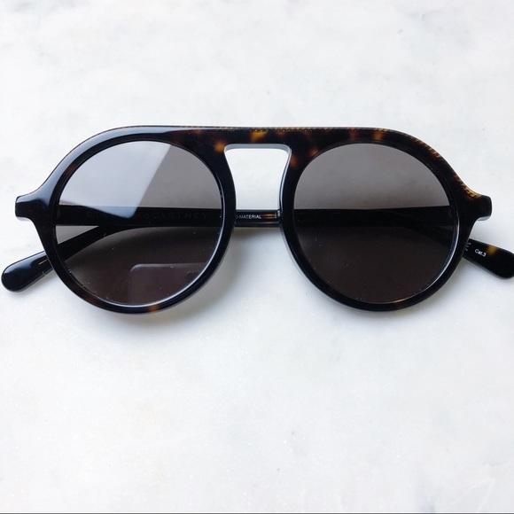 150aad0cc21b7 Stella McCartney Round Sunglasses w  Chain NEW